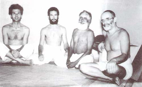 Archival photo of German Swami Gauribala