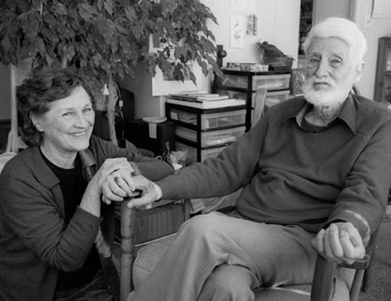 James and Barbara George in 2004