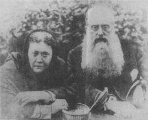 Madame Blavatsky and Henry Steel Olcott